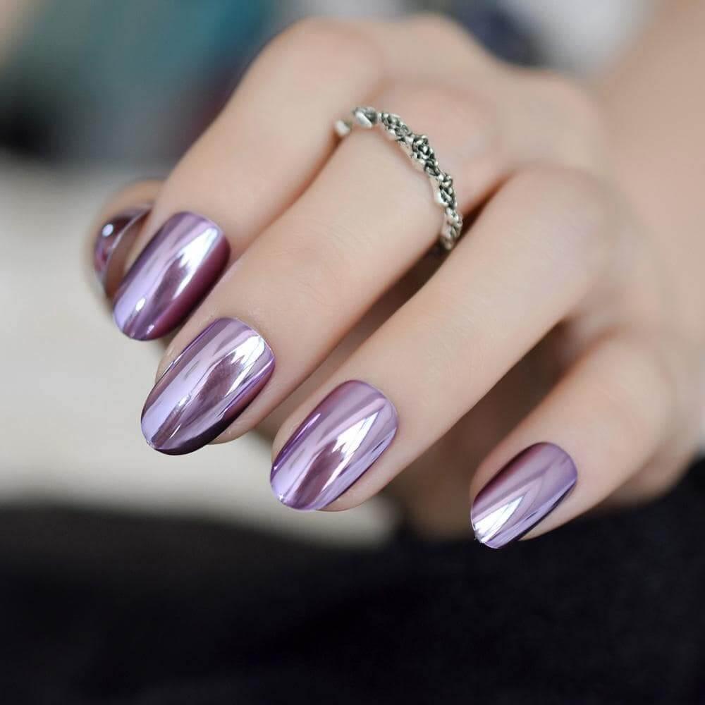 nail tráng gương đẹp