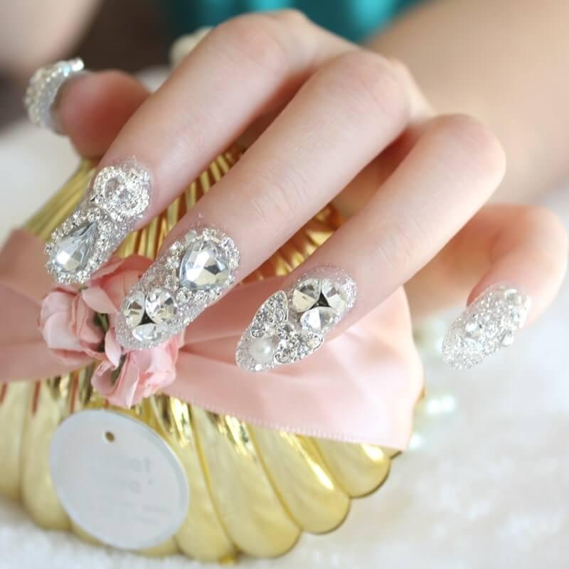 một số mẫu nail đắp bột đẹp