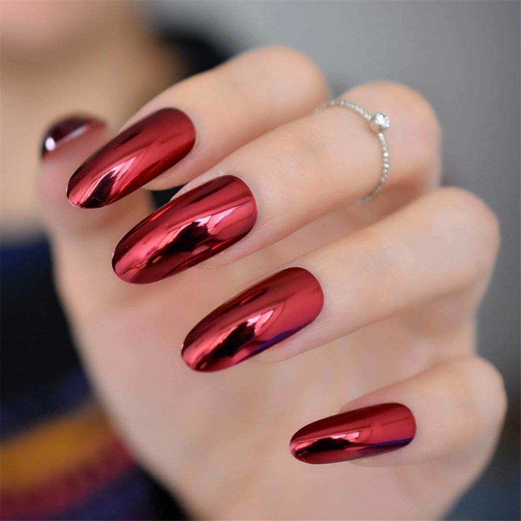 nail tráng gương