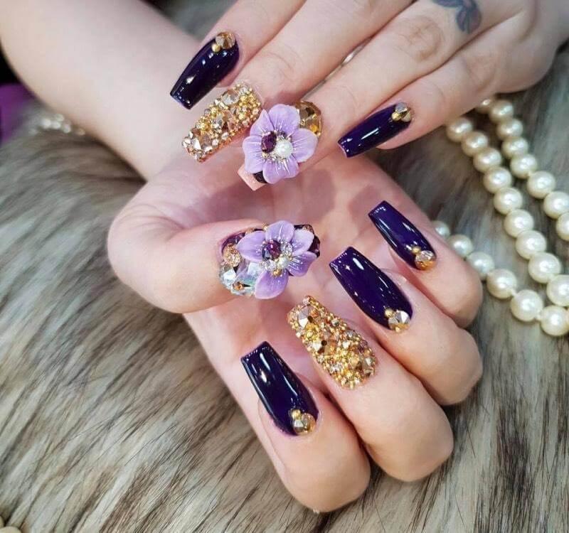 các mẫu nail vẽ đẹp
