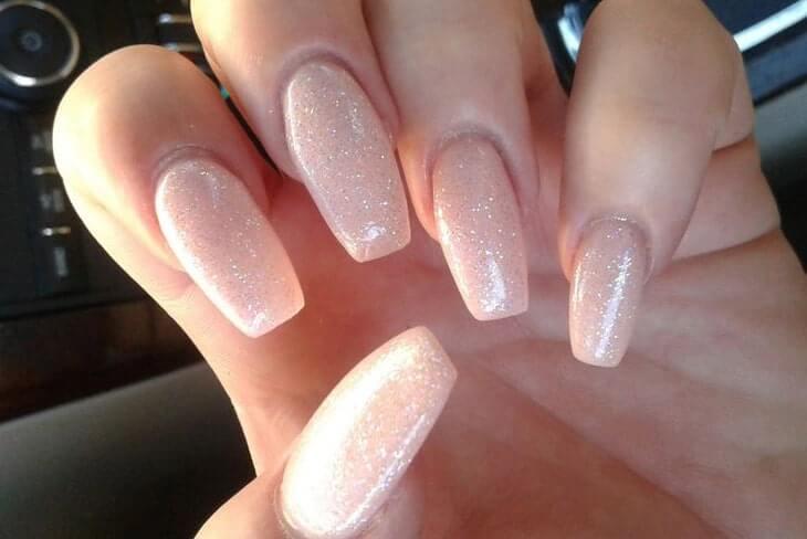nail nhũ bạc