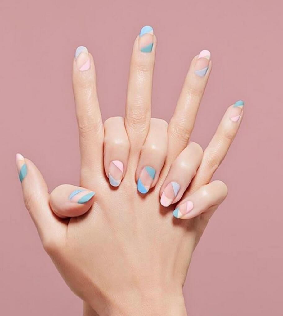 các mẫu nail đẹp đơn giản 2020