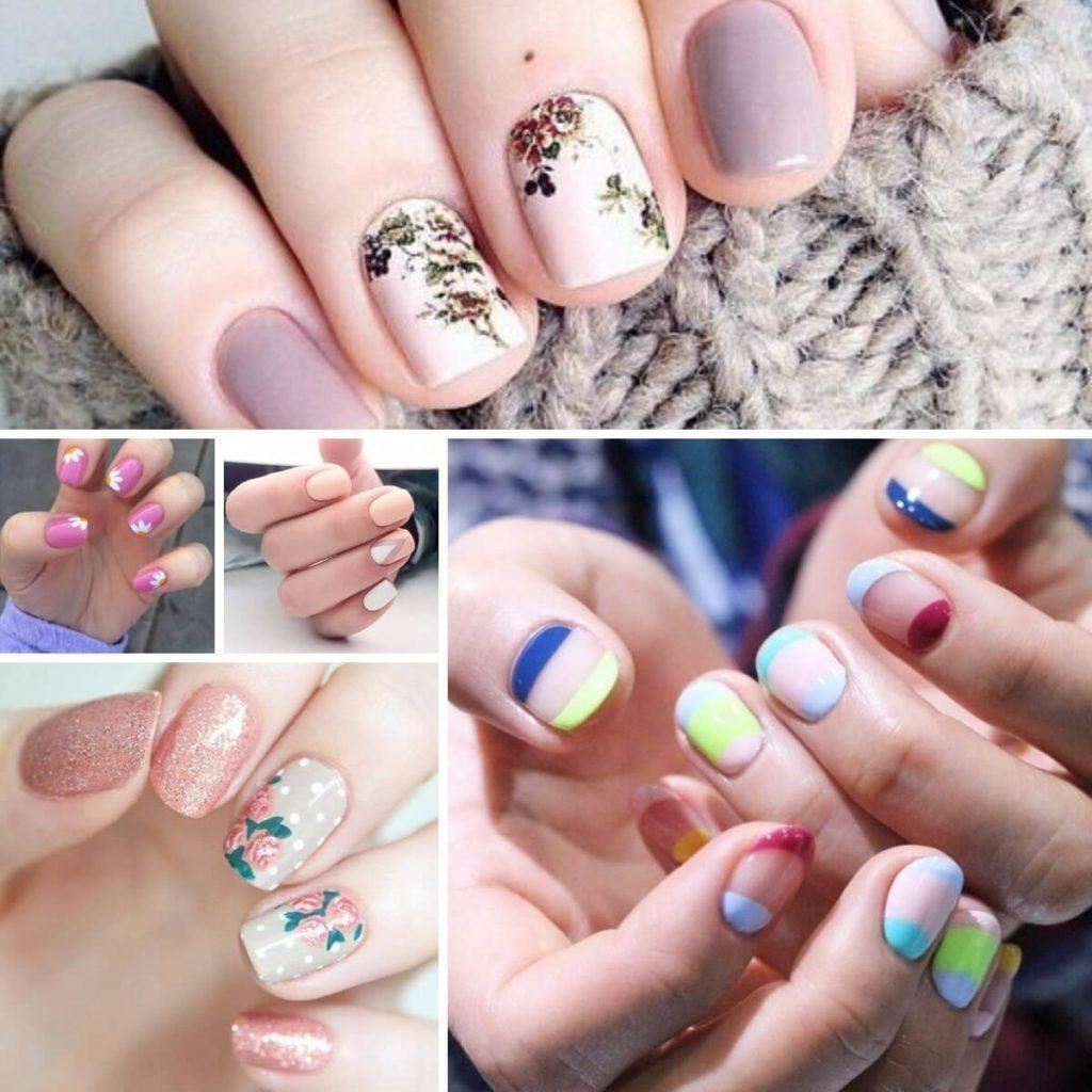 vẽ nail ngày tết