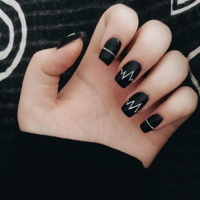 mẫu nail dễ thương