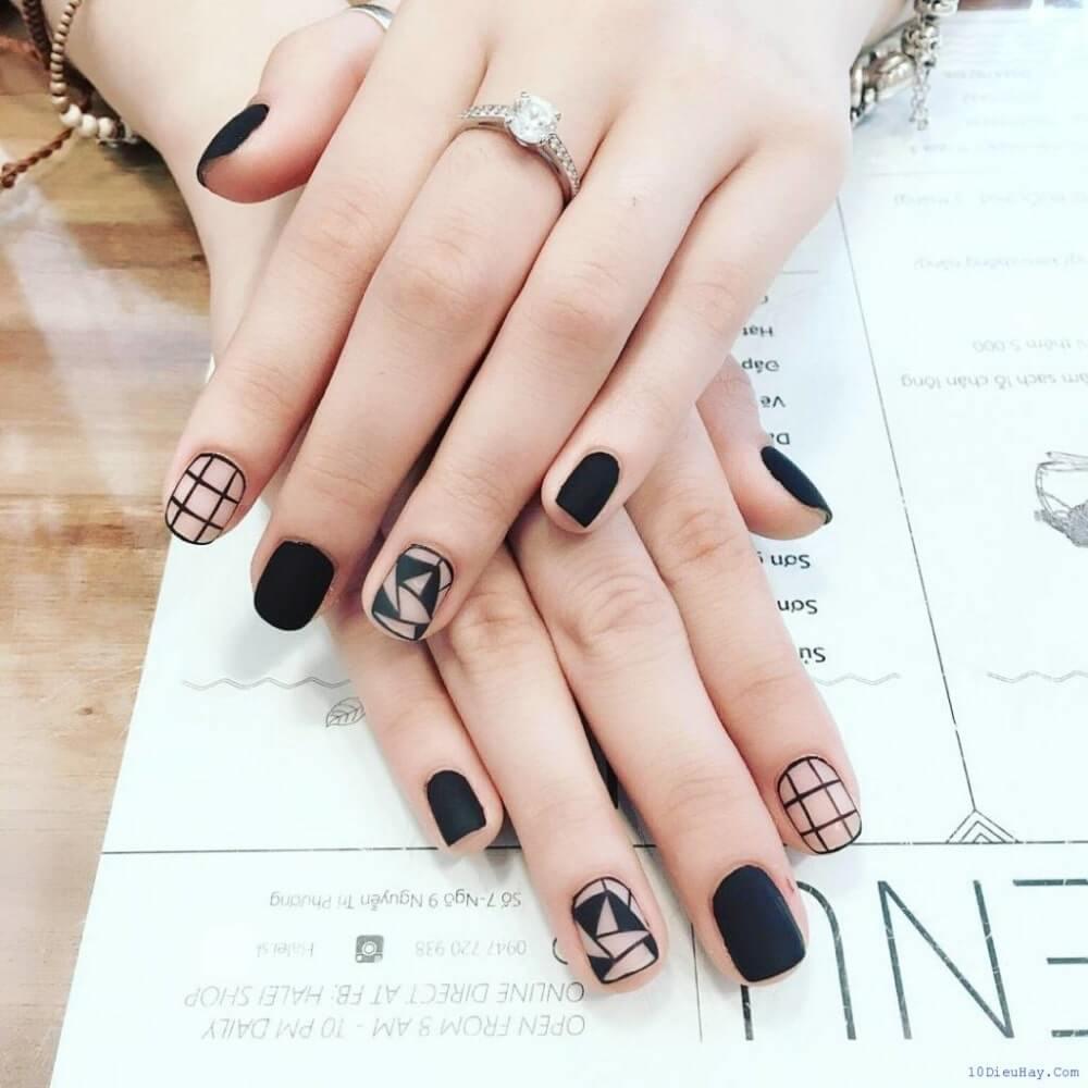 kiểu nail đơn giản đẹp