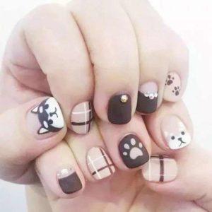 Mẫu nails hoạt hình