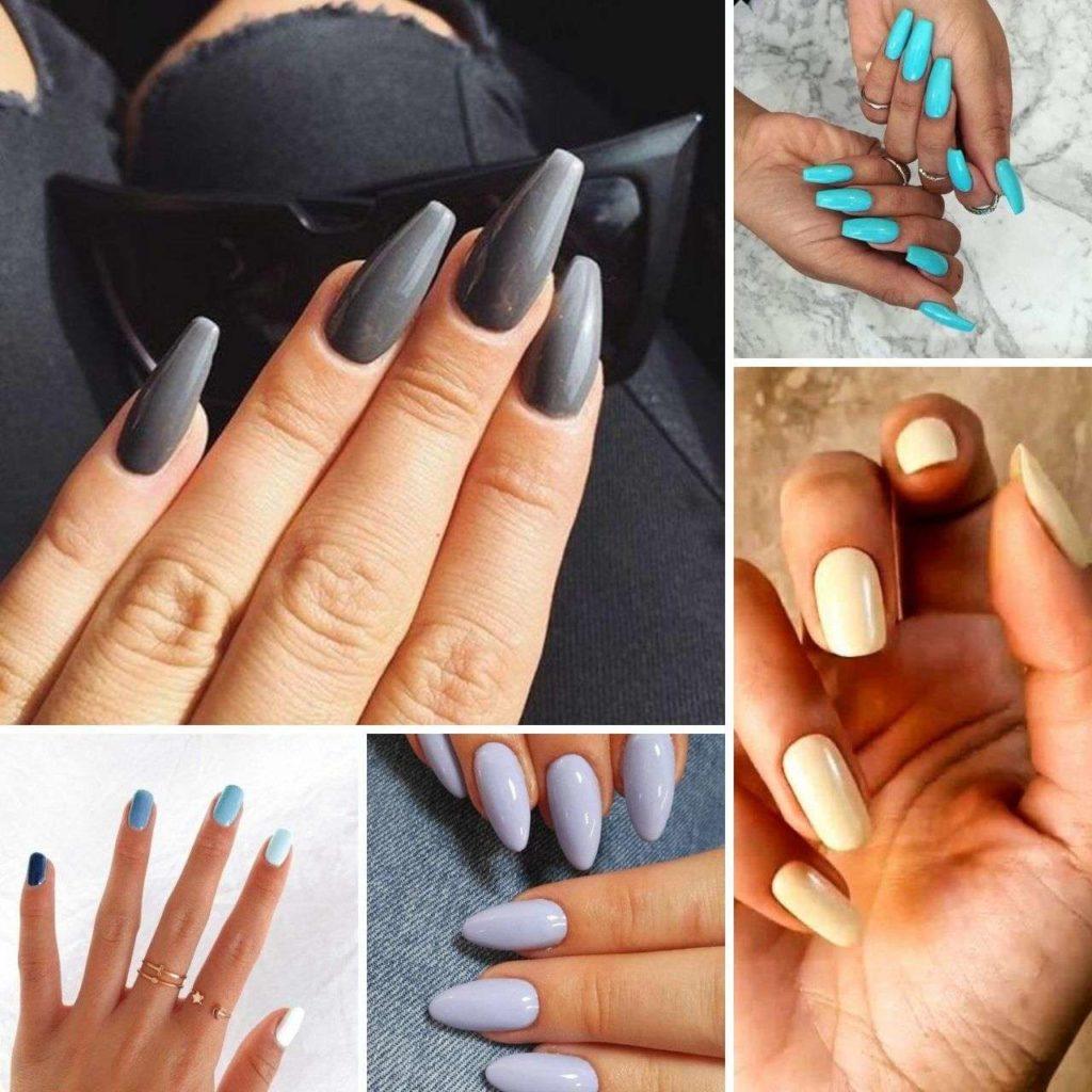Gân tay màu xanh dương hoặc pha tím thì tông da của bạn sẽ là tông trung bình