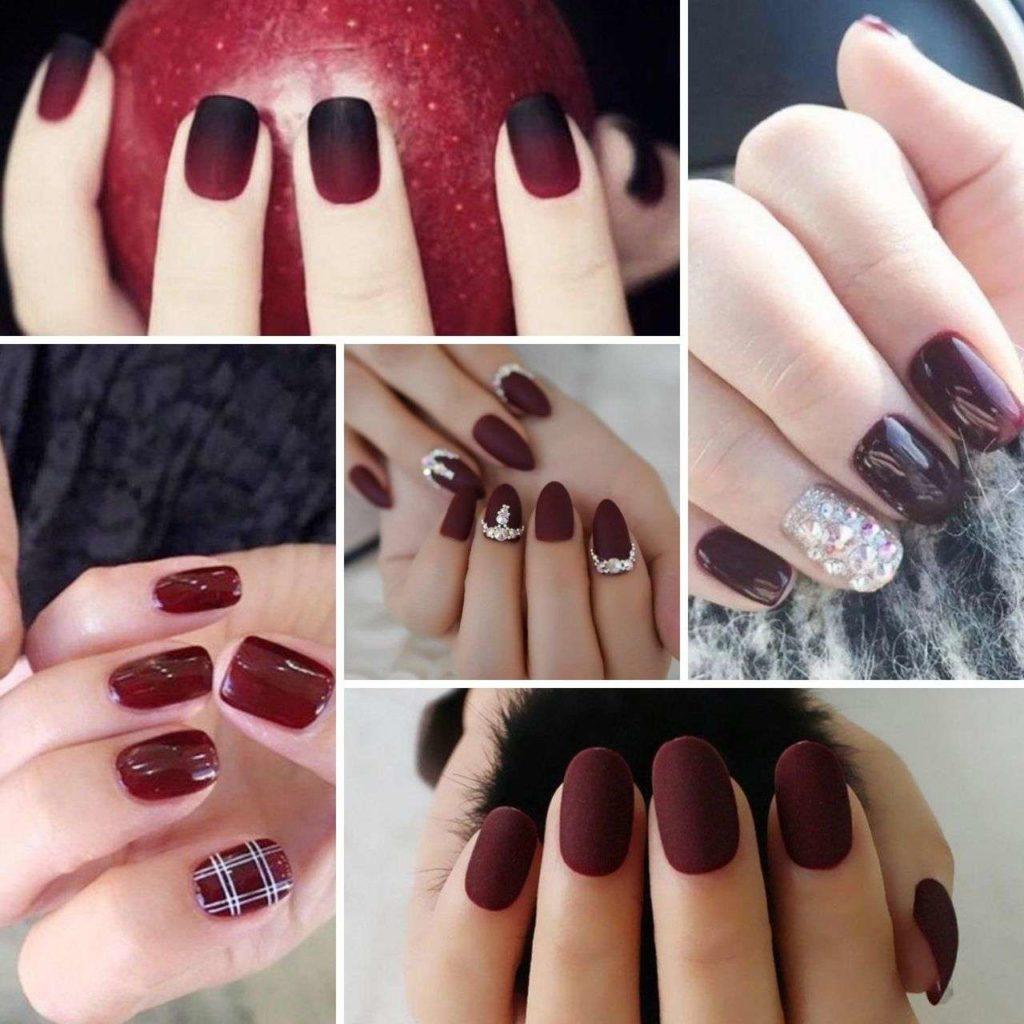 nails đỏ rượu vang _ Mang đến sự quyền lực